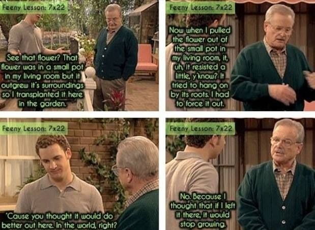 More wise words from Mr. Feeny