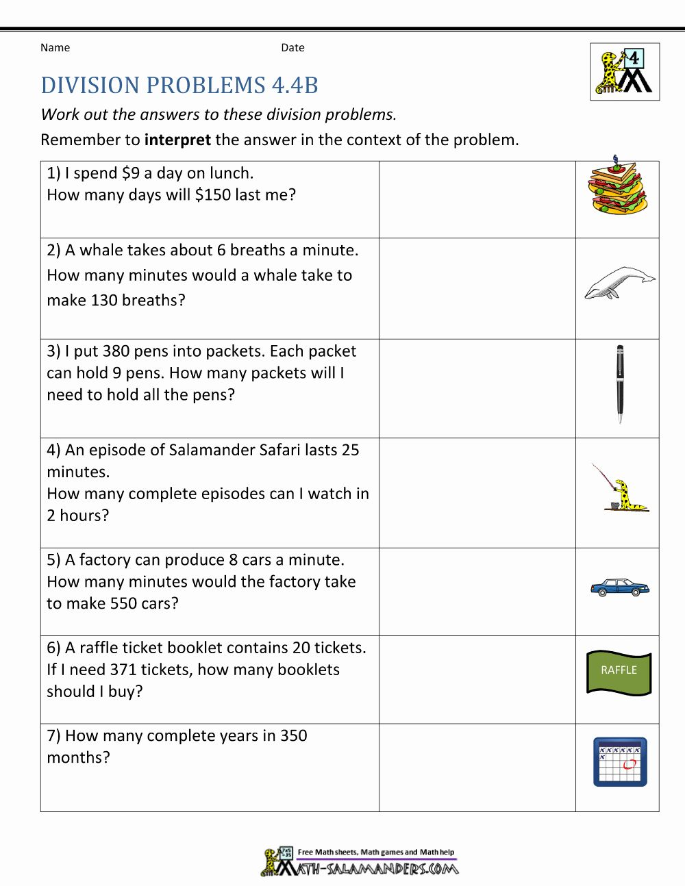 Pin Di Grade Worksheets