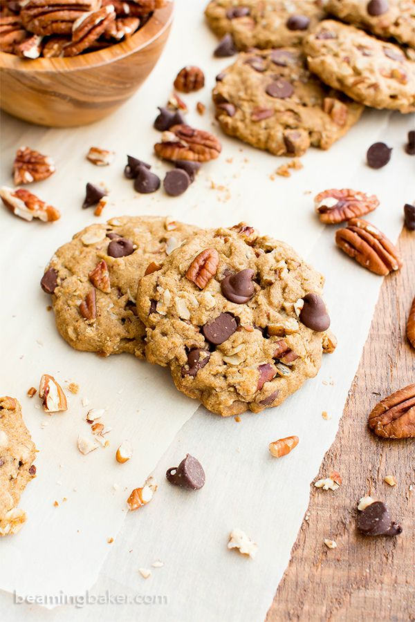 Maple Pecan Chocolate Chip Cookies V Gf Df An Easy Recipe For