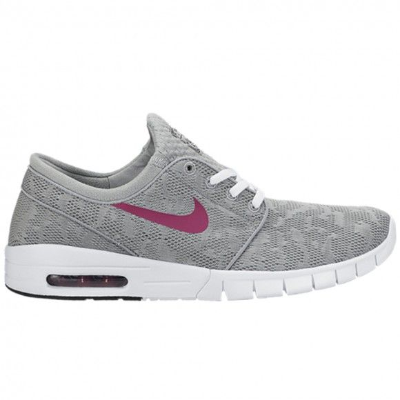 reputable site c03ba dc45d Nike SB Stefan Janoski Max base grey bright magenta-white shoes in store  and online at NOTE. Free UK delivery.