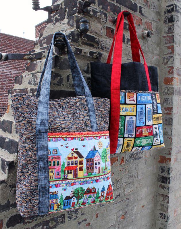 2016 RxR Free Pattern Bags | Bolsos | Pinterest | Taschen nähen und ...
