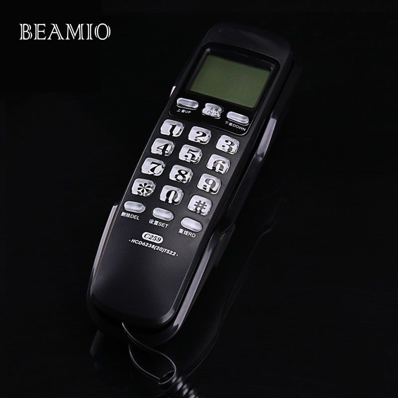 Check Discount Mini Wall Fixed Telephone Call ID Redial DEL Hotel ...