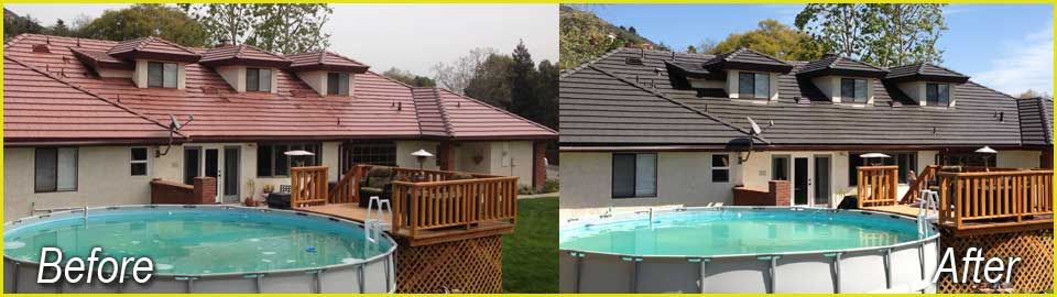 roof tile restoration roof cleaning roof ideas pinterest