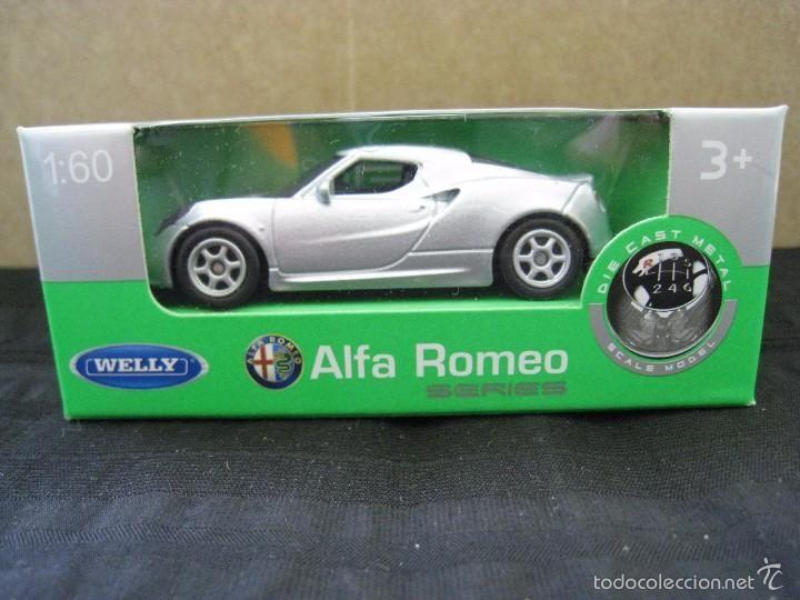 Welly Miniatura C Nex 4 60Coches Romeo Escala Alfa 1 Coche wP80knO