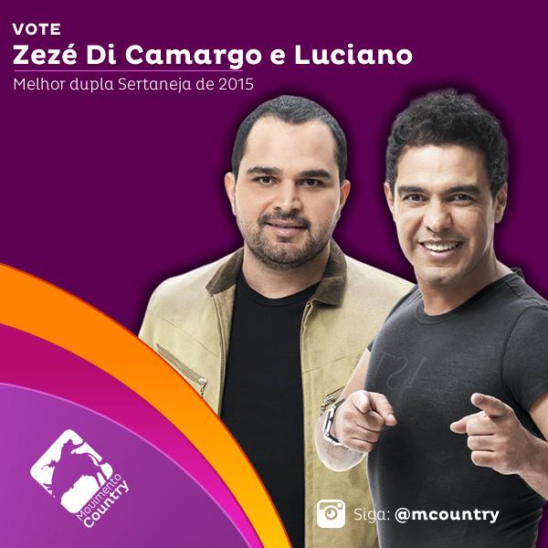 Vote em @zcloficial e Luciano na categoria #MelhorDupla no Melhores Do #MovimentoCountry #R7 http://goo.gl/Wodhsd