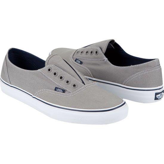 Vans Era Laceless - Mid Grey True White  2ac68fe1a3bb