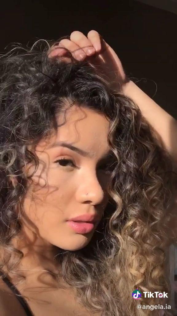 Pin By Helen 14 On Tiktok Video Zendaya Hair Curly Hair Tips Hair Styler