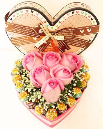 indonesia Flowers - Box of Sweetness | Send Valentine ...
