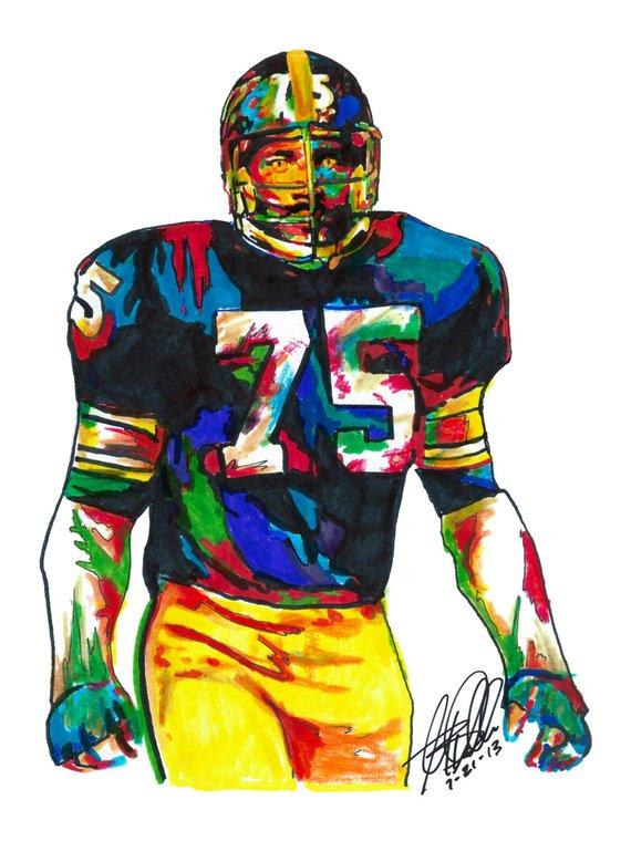 81f34f052cd Joe Greene, Pittsburgh Steelers, Defensive Tackle,