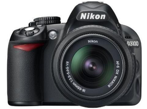 Nikon D3100 with 18-55mm DX Lens