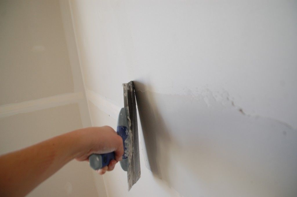 How To Tape Mud And Sand Drywall Young House Love Diy Home Improvement Drywall Repair Drywall Installation