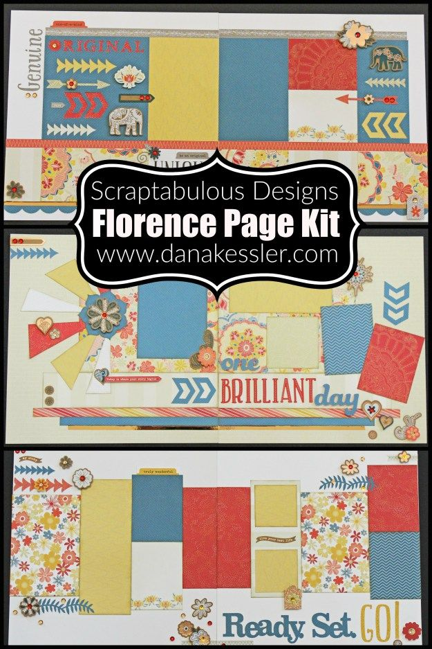 Florence Page Kit Adisney Scrapbook Ideas Pinterest Florence