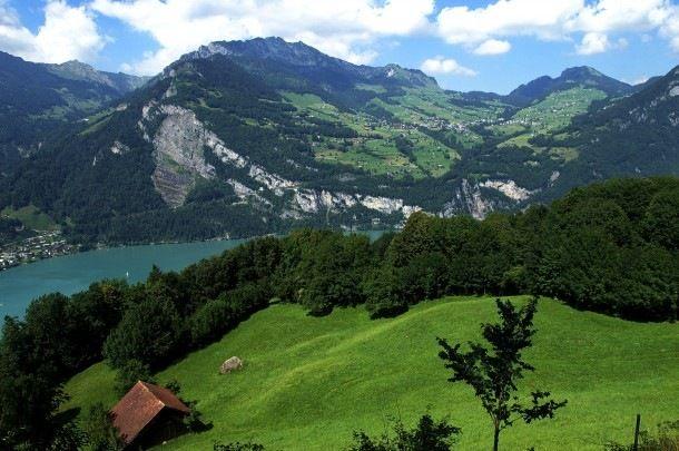Dünyadaki En Güzel Köyler - Amden, İsviçre