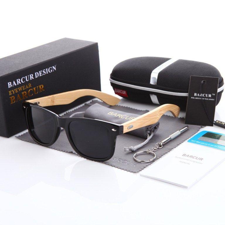 b37231d701 Unisex Bamboo Polarized Sunglasses in 2019