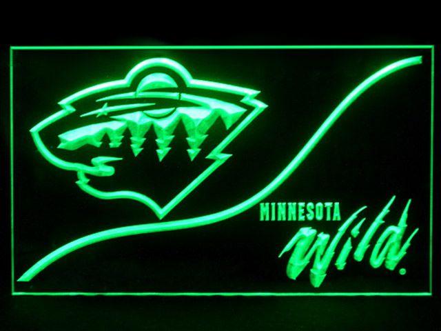 75781ec03 Minnesota Wild Cool Display Shop Neon Light Sign
