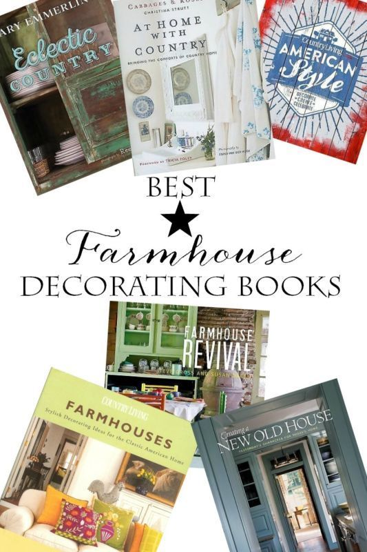 Best Farmhouse Decorating Books