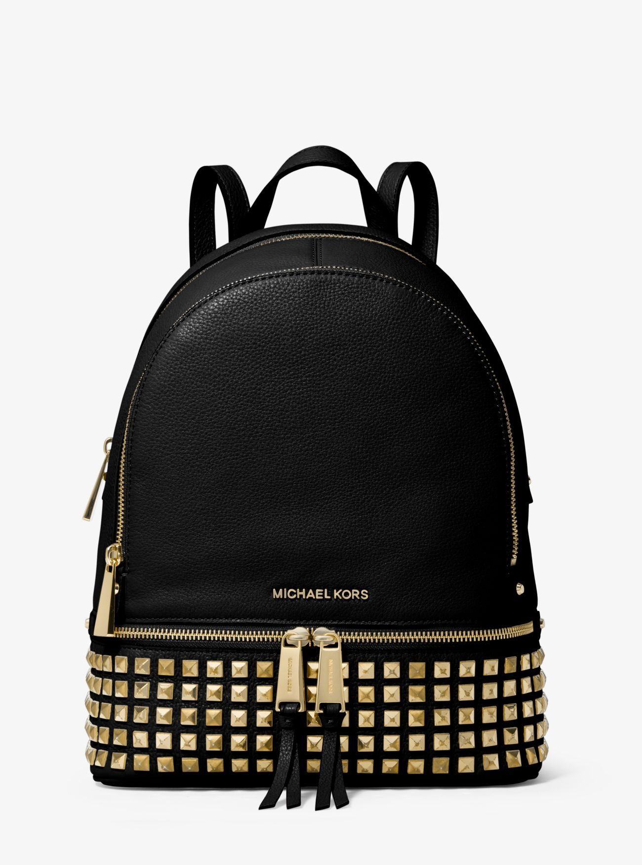 ccbe5c17e687 Rhea Medium Studded Leather Backpack   The best of: Michael Kors in ...