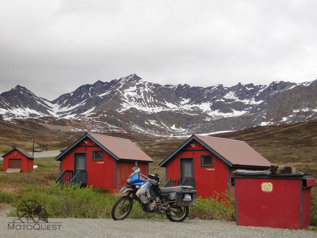 Lodging with a view alaska prudhoe bay motorcycle