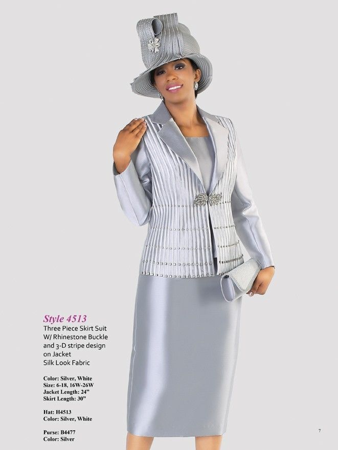 Tally Taylor Silver or White Skirt Suit Church Wedding Mother of ...