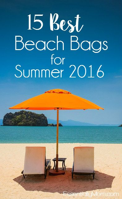 Best Beach Bags for Summer 2016