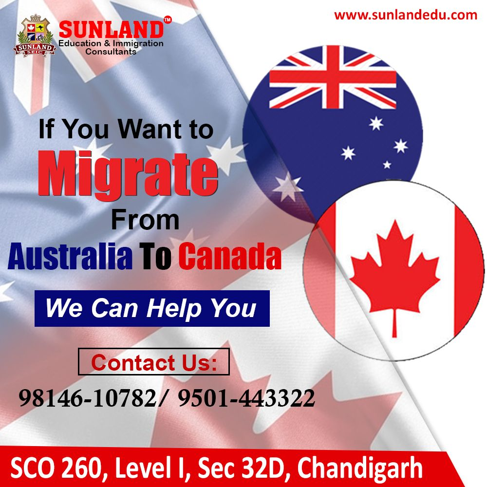 Migrate from Australia to Canada Sponsorship program