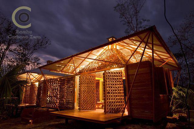 Bambu Carbono Zero - Arquitetura em Bambu