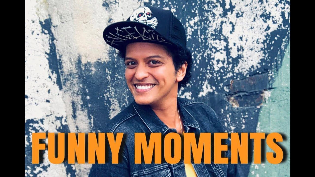 Bruno Mars Funny Moments Funny Moments In This Moment Classic Hollywood