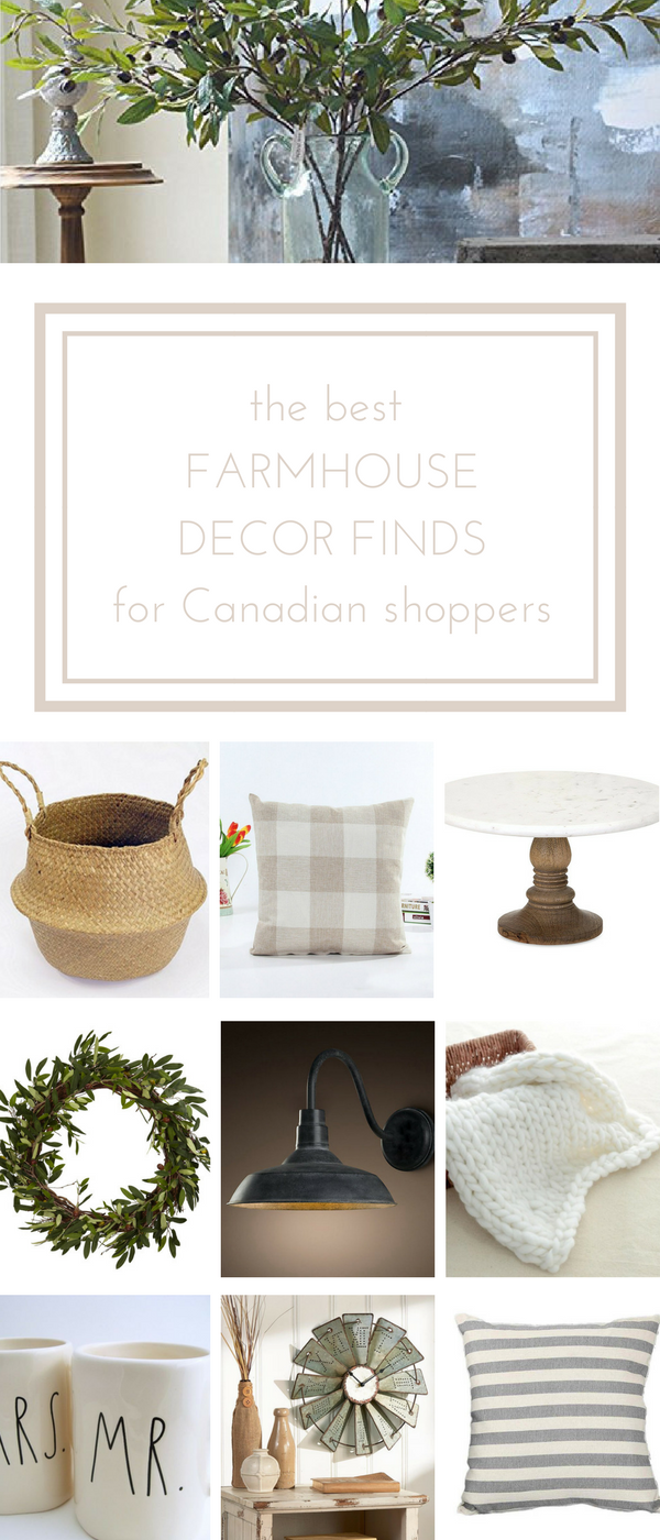 My Favourite Farmhouse Finds on Amazon.ca Funky home