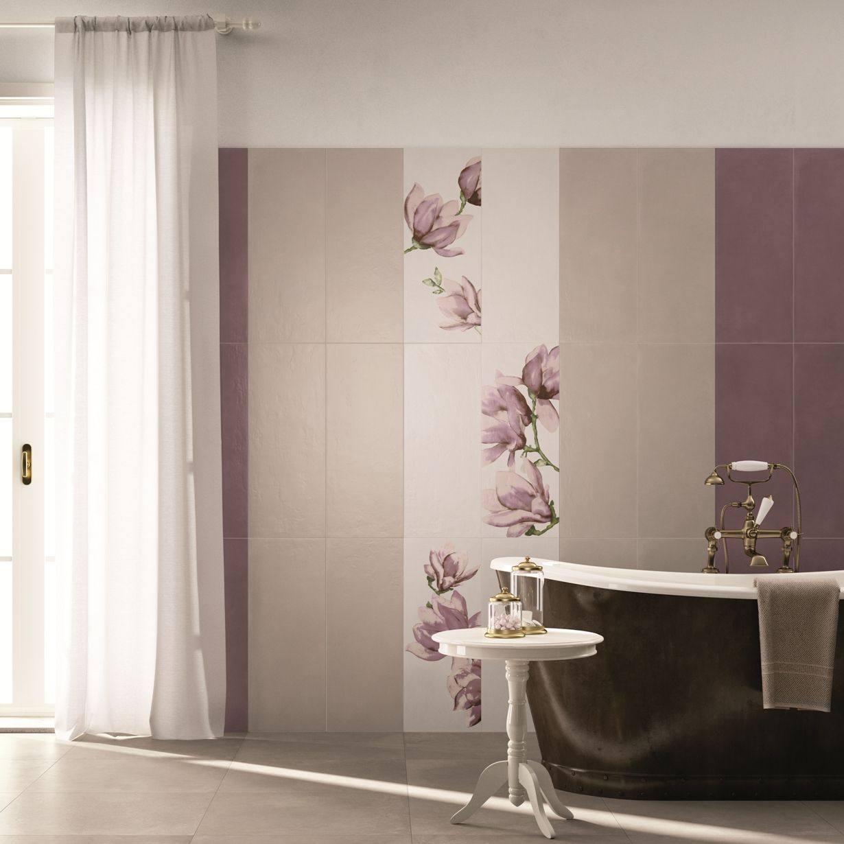 Pinterest the world s catalog of ideas - Piastrelle bagno damascate ...