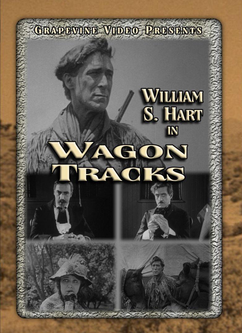 wagon tracks 1919 lambert hillyer directs william s hart in this rh pinterest com Silent Animals Cowboy Silent Movie Stars