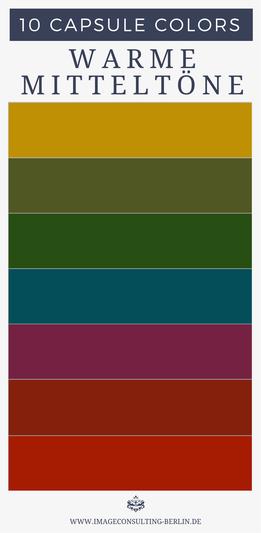 capsule colors deine 10 besten farben blogartikel warme mittelt ne sind optimal f r shirts. Black Bedroom Furniture Sets. Home Design Ideas