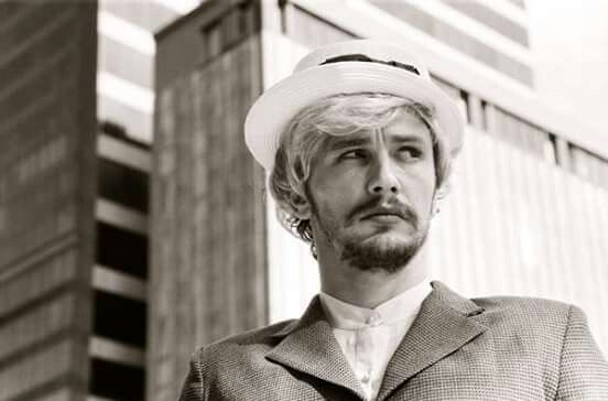 James Franco in his version of Cindy Sherman's Untitled Film Stills, 2014
