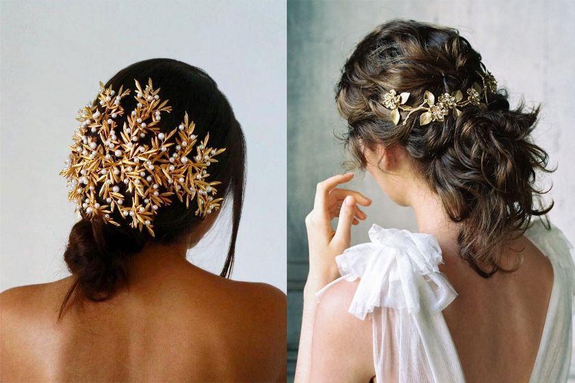 超有氣質的復古頭飾大熱!完美新娘浪漫髮髻靈感集!