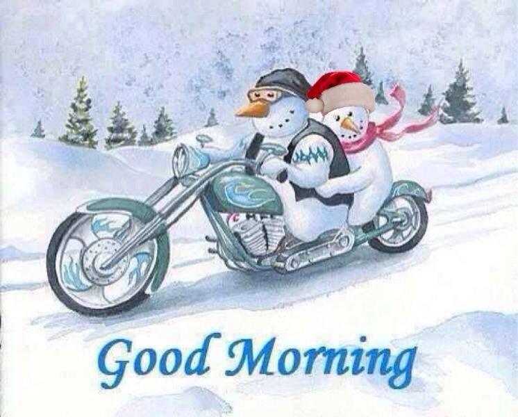 Guten Morgen Biker