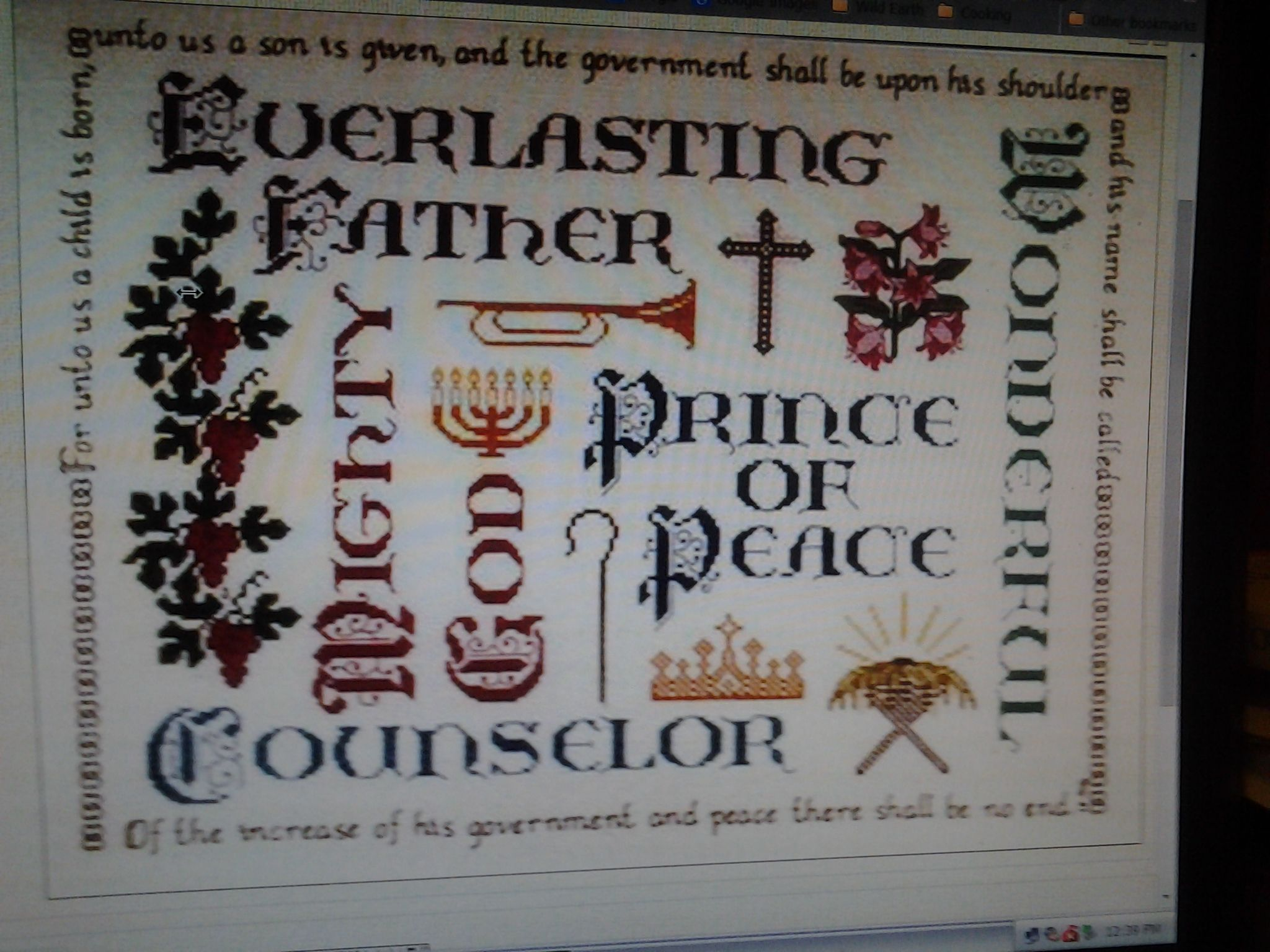 Isaih 9:6 - Designed by Connie Abel