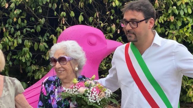 Teramo, festeggiamenti per i 100 anni della signora Montauti [FOTO]
