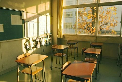 Classroom Ideas Tumblr ~ Closed with simon i sit in the empty classroom where