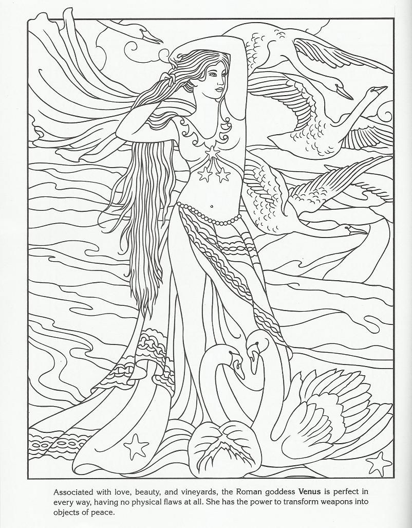 roman goddess venus coloring pages pinterest venus
