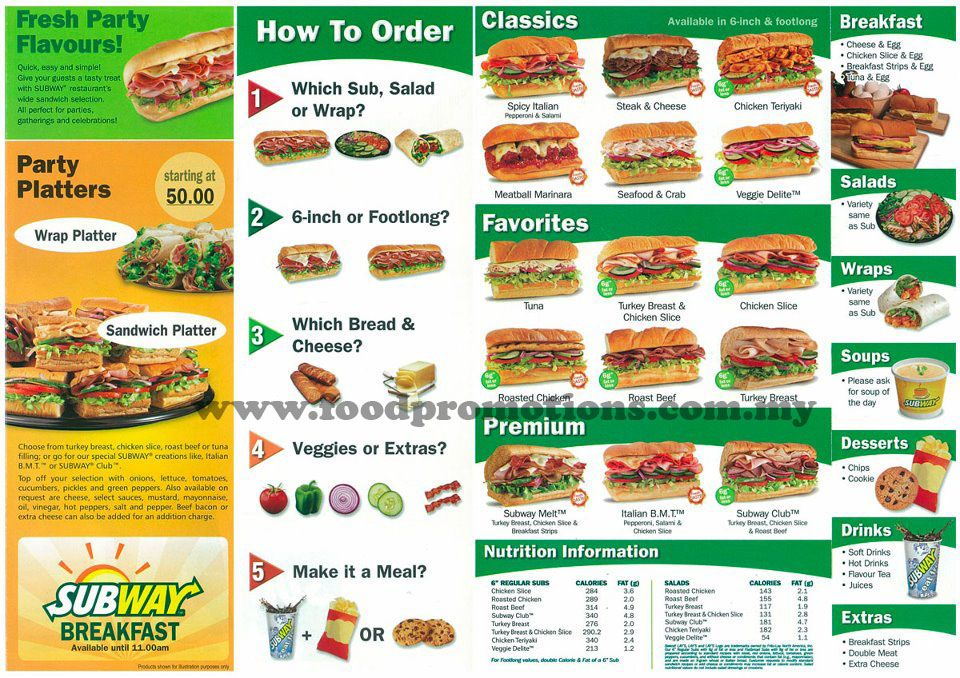 image relating to Printable Subway Menu known as Subway Think about Menu Daily life capabilities clroom Daily life expertise
