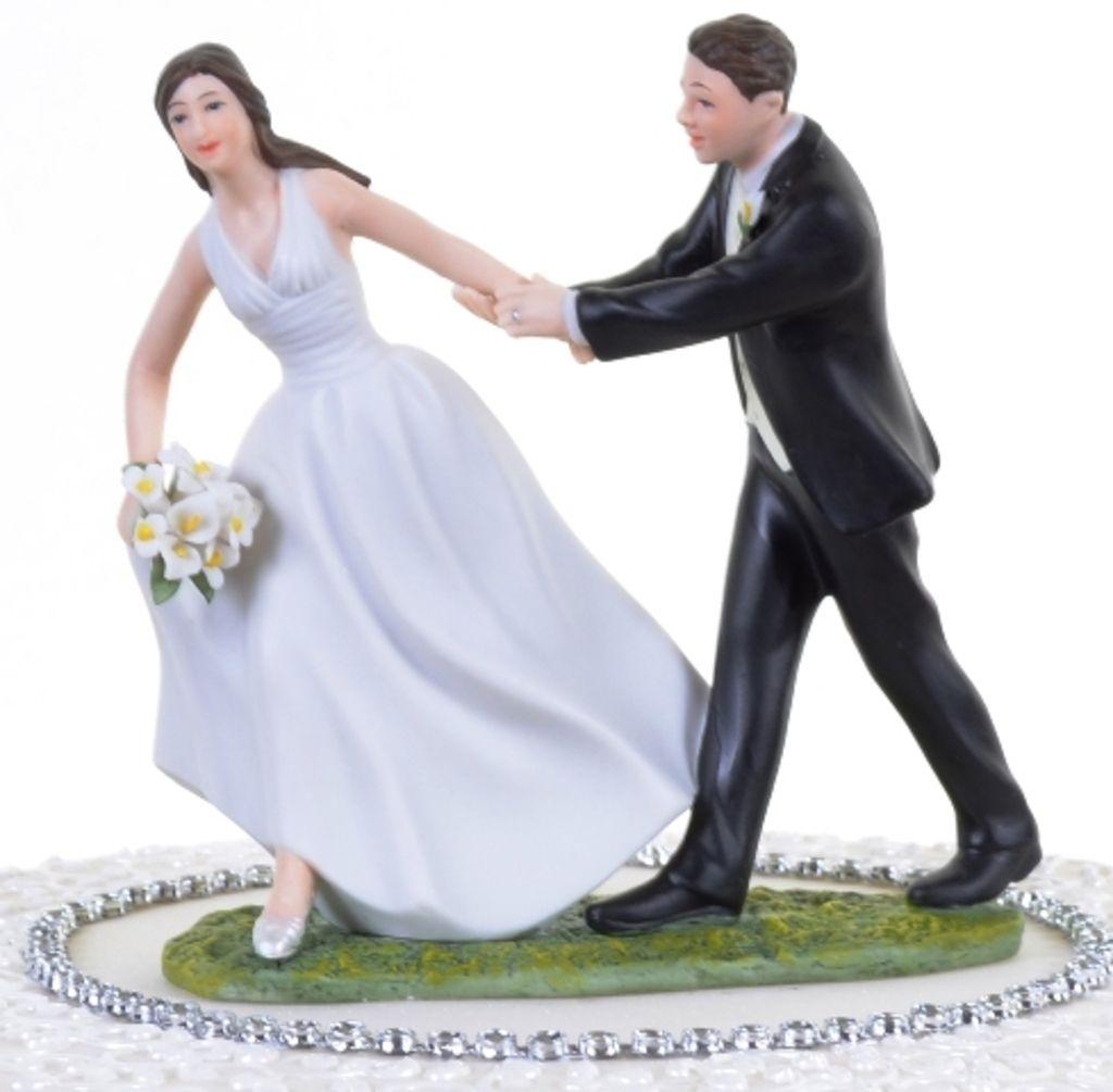 Pastry Palace Las Vegas - Cake Topper #19 - Runaway Bride. | Cake ...