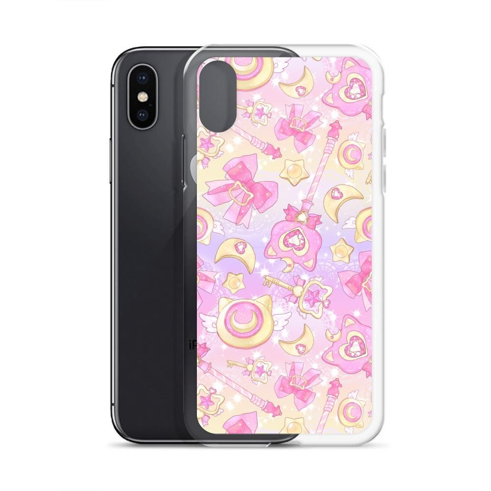 Magical Girl iPhone Case (Pink) - iPhone X/XS