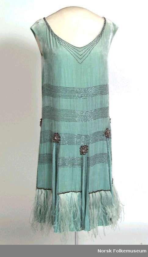 Flapper dress, Norwegian Folk Museum.
