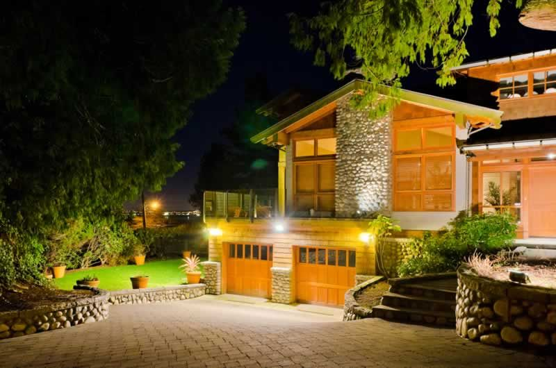 Landscape lighting ideas.