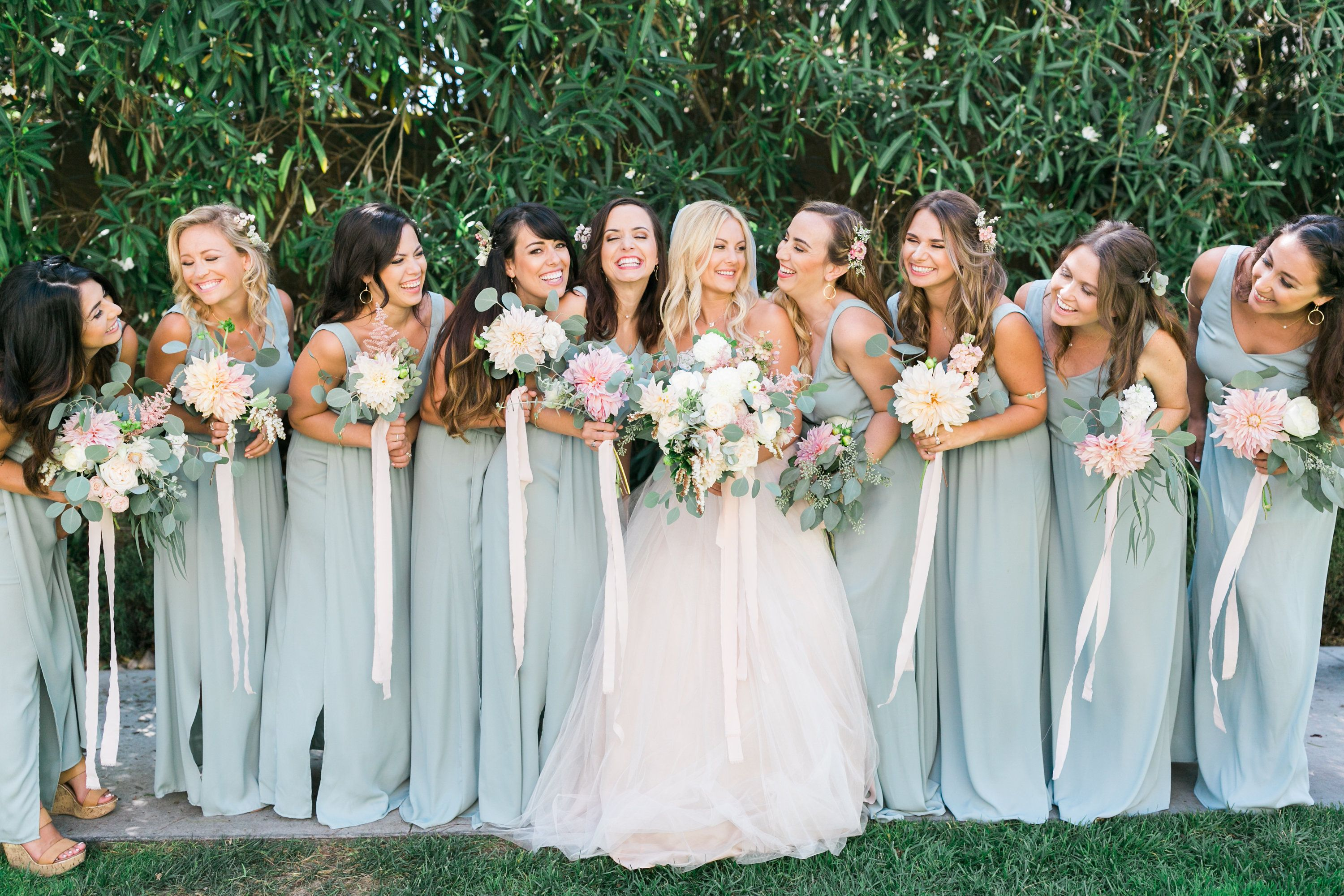 91099f1666d  showmeyourmumu silver sage crisp bridesmaids dress Brides dress   watterswtoo  mumuweddings