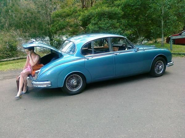 Awesome 1962 Jaguar MK2 Car Hire (Full Weekend)   Sydney, NSW