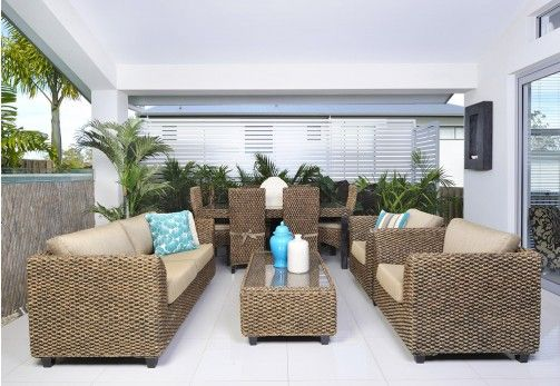 Outdoor Furniture - FIJI 4 Piece Suite from Super Amart ...