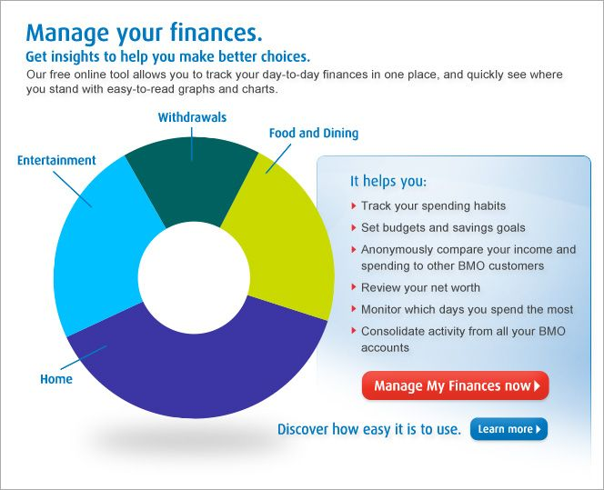 easily manage your day to day finances in one place with bmo manage