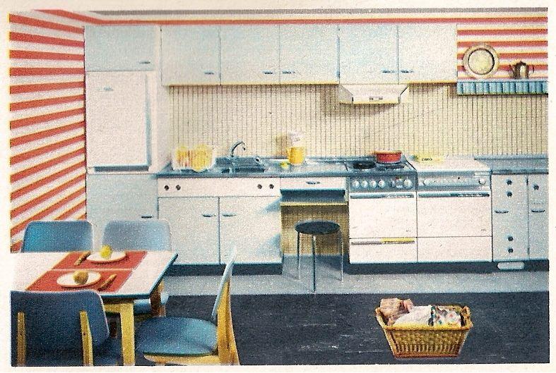 1962 Musterring Küche
