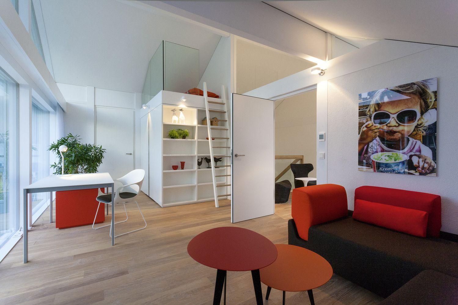 HUF Musterhaus modernes Kinderzimmer in Fachwerkhaus | Huf Haus ...