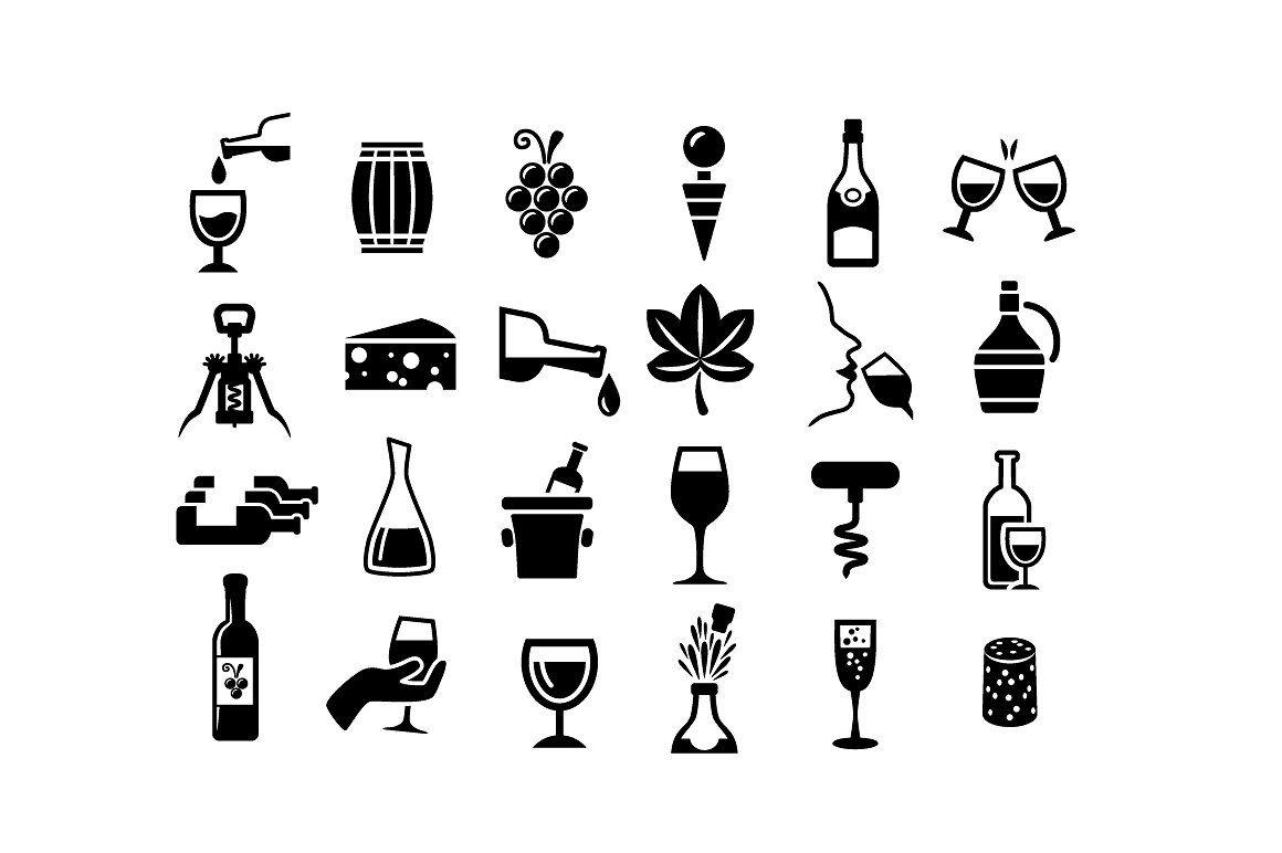 Wine Vector Icons Wine Icon Icon Vector Icons